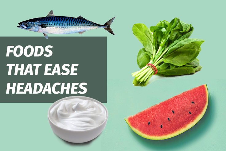 Foods That Ease Headaches