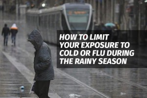 How to Limit Your Exposure to Cold or Flu During the Rainy Season